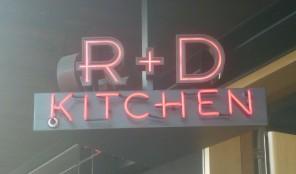 R & D Kitchen logo